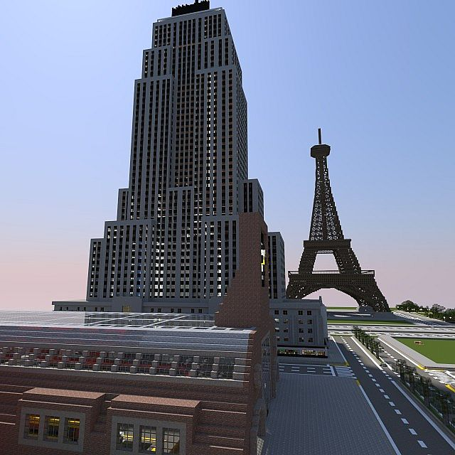 Empire state building full detailed minecraft project - Are there offices in the empire state building ...