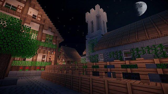 Town at Night
