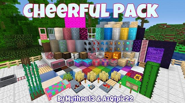 Popular Texture Pack : Qtpie's Cheerful Pack