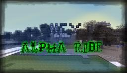 Alpha ride Rollercoaster( for the rollercoaser contest) Minecraft Project