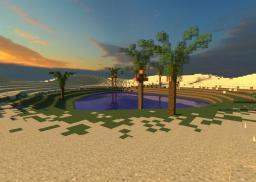Desert: Custom Terrain Minecraft Map & Project