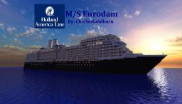 M/S Eurodam Cruise Ship 1:1 Scale [Real-Ship] [+Download] Minecraft