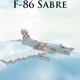 F-86 Sabre Minecraft Project