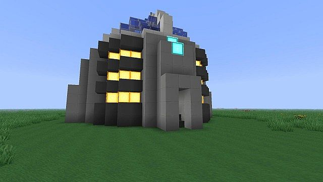Power Generator For Home >> Underground Fusion Power Plant Minecraft Project