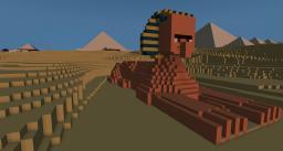 Giza Pyramids 2.200 BC Minecraft Map & Project