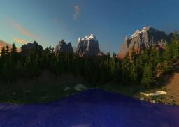 Mount Kona: Custom Terrain v3 Minecraft Map & Project