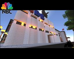 Metapolis - West Pinewood: NBC Television Building Minecraft Project