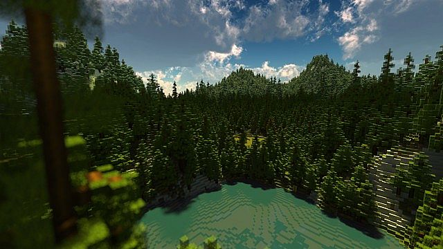Ultra Realistic Mountain Forest By Tylertimoj Minecraft