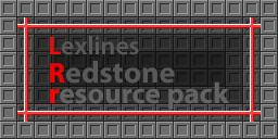 Lexline`s Redstone resource pack 1.7.2 - 1.6.4!
