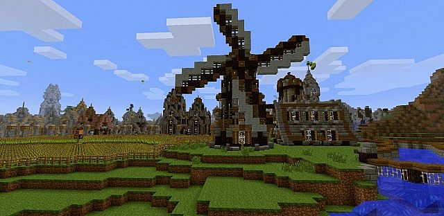 Part of our Minecon nominated Spawn.