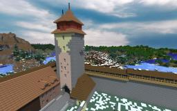 Real Medieval tower Minecraft Map & Project