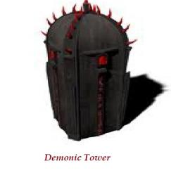 Demonic Tower Minecraft Map & Project