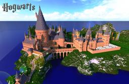 [1%TEAM]HarryPotter Hogwarts Minecraft Map & Project