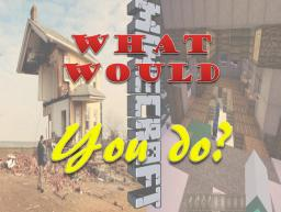 What Would You Do? [Now Interactive] Minecraft Blog Post