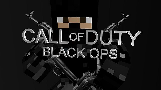 Call Of Duty Black Ops 3D Art Minecraft Project