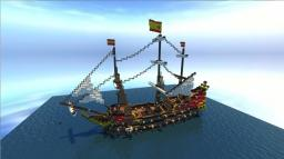 Spanish Galleon (+ island) Minecraft