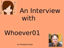 An Interview with : Whoever01   [POP REEL!!?!?] Minecraft Blog