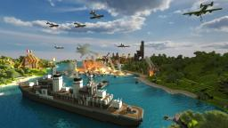 WWII Themed Invasion (cinematic battle scene) Minecraft Map & Project