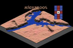 Highbroos - Custom Terrain Minecraft Map & Project