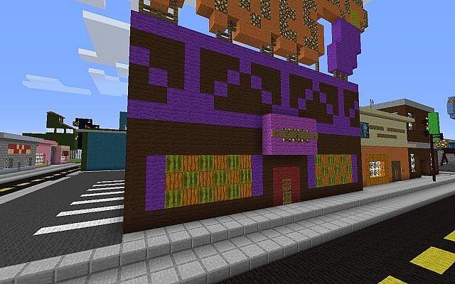 Скачать Карту Для Minecraft Спрингфилд - фото 8