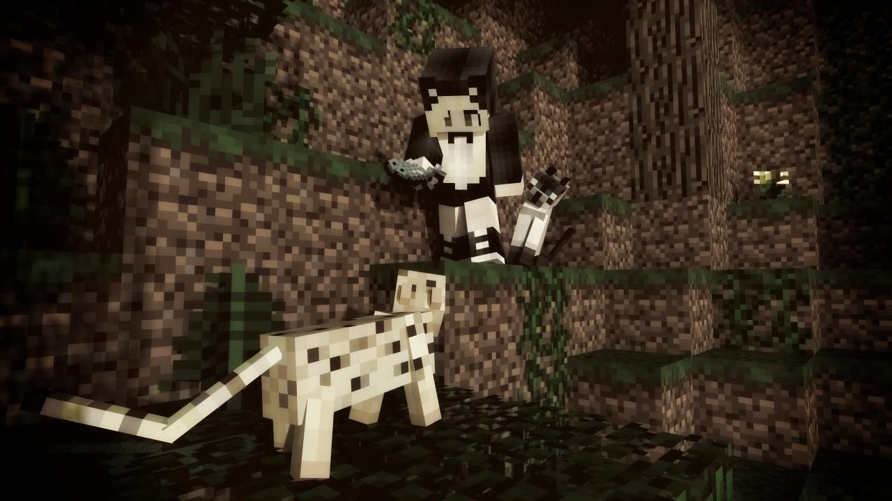How to Tame an Ocelot Fast and Easy! Minecraft Blog