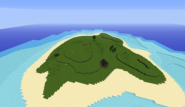 скачать карты необетаемый остров на майнкрафт #9