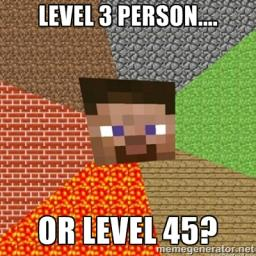 Give Lower Levels A Chance Minecraft Blog
