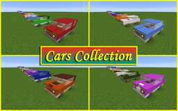 Cars Collection Minecraft Map & Project