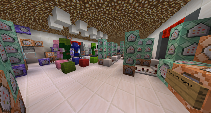 Early photo of our command center. notice the color coded skeletons