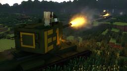 My KV-2 (ZIS-6) Minecraft Map & Project