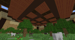 Survival map in a Crafting Table Minecraft Map & Project