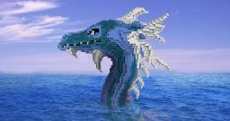 Sea Monster - First Organic Attempt Minecraft