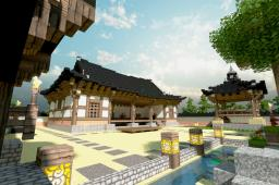 korea tradition house Minecraft Project