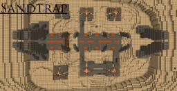 Sandtrap Halo Map Minecraft Map & Project