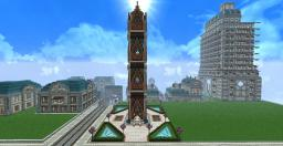 A small unnamed monument tower Minecraft Map & Project