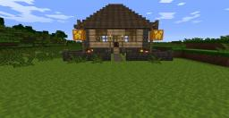 My first House Minecraft Map & Project