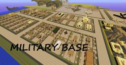 MILITARY BASE! Tanks! Half Tracks! Jeeps! Carriers! Battleships! ww2 Aircraft! Jets! MORE Minecraft Map & Project