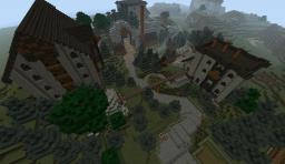 Fable 3 Millfields and Reavors Manor + Fairfax Castle + Bowerstone Market Minecraft Map & Project