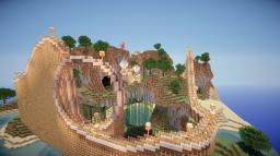 """""""Sky Sailor"""" Masive Wooden Roller Coaster (Built By Galayon) Minecraft"""