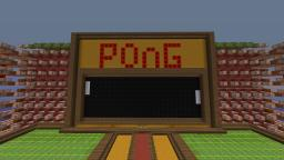 Pong in minecraft Minecraft Map & Project
