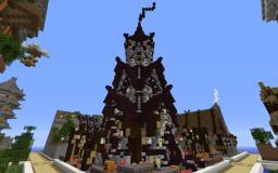 Nether Themed Temple Tower :P Minecraft Map & Project