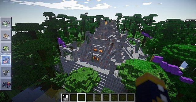 Minecraft Mine Entrance