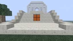 Quick Build: Nether Quartz Temple Minecraft Map & Project