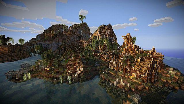 The swamp village