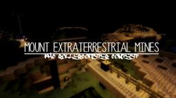 MOUNT EXTRATERRESTRIAL MINES ROLLERCOASTER Minecraft Map & Project