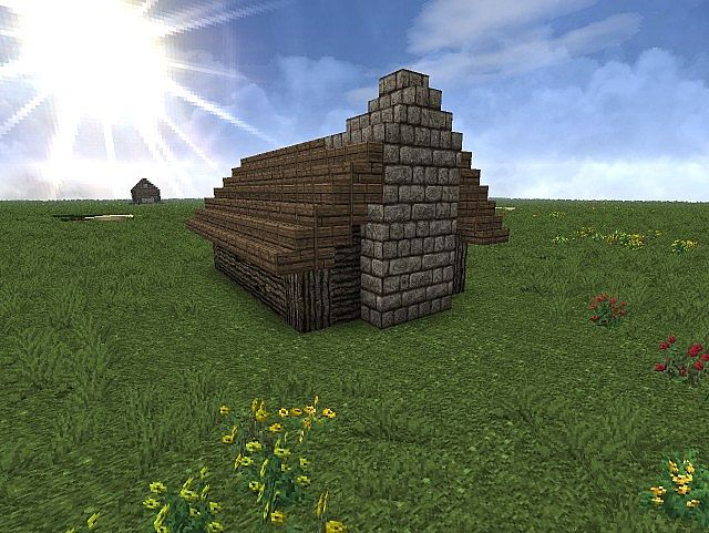 Small And Cozy Log Cabin Minecraft Project