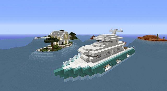 Beach island by JungleCreeper Modern Mansion Epic Yacht