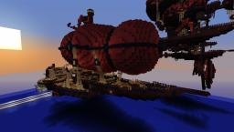 Nether Airship Minecraft Map & Project