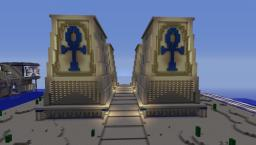 Egyptian Gates Minecraft Project