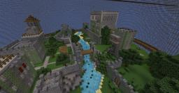 Survival Games Arena Planet - Medieval Castles Minecraft Project